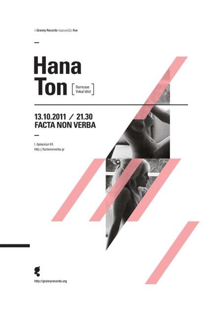 han&ton live /facta non verba