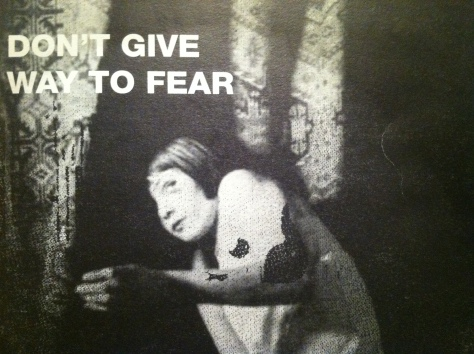 don't give way to fear mixtape