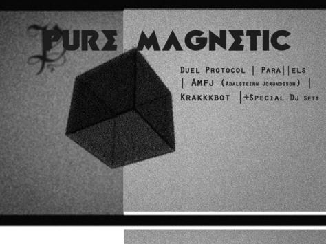 Djing at Pure Magnetic/  De Vinger /Den haag